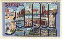 Greetings from Bangor, ca. 1938
