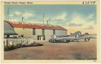 Bangor Airport, Bangor, ca. 1935