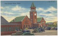 Union Station, Bangor, ca. 1935