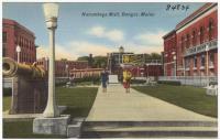 Norumbega Mall, Bangor, ca. 1935