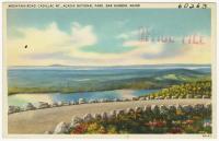 Cadillac Mountain, Acadia National Park, ca. 1935