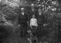 Brothers and boys, Sabbathday Lake Shaker Village, ca. 1910