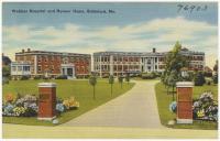 Webber Hospital and Nurses' Home, Biddeford, ca. 1935