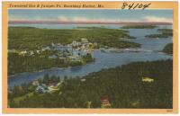 Townsend Gut and Juniper Point, Boothbay Harbor, ca. 1938