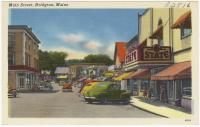 Main Street, Bridgton, ca. 1938