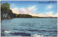 Highland Lake, Bridgton, ca. 1938
