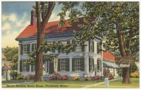 Harriet Beecher Stowe House, Brunswick, ca. 1938
