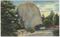 DUPLICATE Balance Rock, Camden, ca. 1938