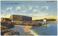 Fort Popham, Phippsburg, ca. 1935