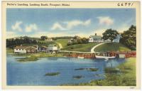 Porter's Landing, Freeport, ca. 1938