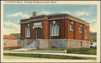 B. H. Bartol Library, Freeport, ca. 1938