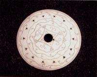 Wabanaki trade brooch, ca. 1780