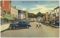 Main Street, Winthrop, ca. 1938
