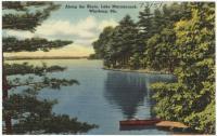 Lake Maranacook, Winthrop, ca. 1938