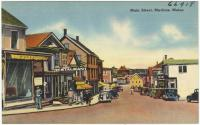 Main Street, Machias, ca. 1938