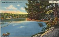Machias River, Machias, ca. 1938