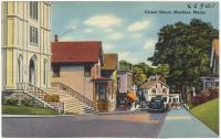 Center Street, Machias, ca. 1938