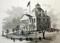 State House, Augusta, 1880
