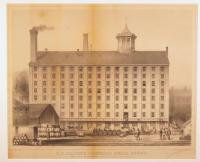 J.B. Brown Sugar Factory, Portland, ca. 1850