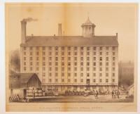 J.B. Brown's Portland Sugar House, Portland, ca. 1850