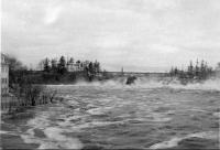 Lewiston Falls, flood of 1936
