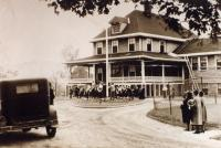 Taconnet Clubhouse, Winslow, ca. 1930