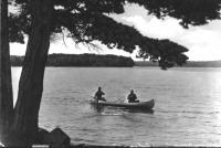 Fishermen on Damariscotta Lake