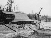 Kezar River flood, Lovell, 1953