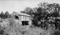 Toll Bridge, Fryeburg, ca. 1900