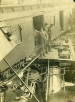 Narrow Gauge Train Derailment, Alna, 1905