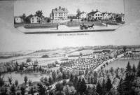 View of Sabbathday Lake Shaker Village
