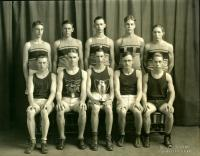 Championship track team, Strong High School, 1930