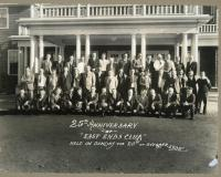 25th anniversary of East Ends Club, Saco, 1935