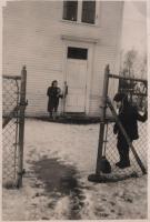 Surry Village School recess, Surry, ca. 1940