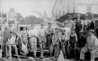 Construction crew, Norridgewock, ca. 1910
