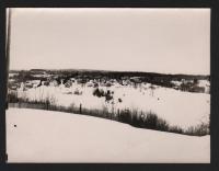 Winter Village Scene, Surry, ca. 1930