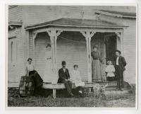 Stinson family, Swan's Island, 1904