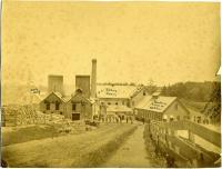 Original Forest Paper Co. mill, Yarmouth, ca. 1880