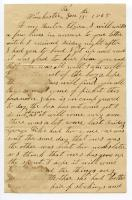 Letter from Wm. Haley Jr. to his daughter, Elzira,  1865