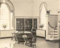 Norway Memorial Library reading room, 1938