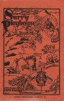 Surry Playhouse Program Cover, ca. 1930