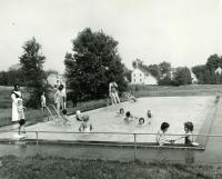 Swimming pool, St. Joseph's Orphanage, Lewiston, 1963