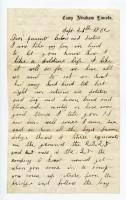 Letter to family after arriving in Portland, 1862
