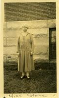 Carolyn Stone, Farmington State Normal School, 1928
