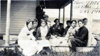 Class of 1918 picnic, Strong, ca. 1914