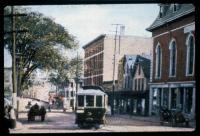 Trolley, Court Street, Auburn, ca. 1900