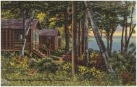 Camp at Messalonskee Lake, Oakland, ca. 1935