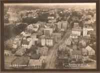 Hill Street looking south, Biddeford, 1915