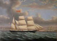 Barque George S. Hunt, 1860
