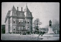 Edward Little High School, Auburn, ca. 1874